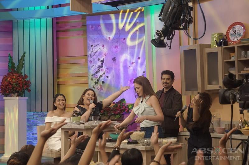 PHOTOS: Magandang Buhay with Bea Alonzo and Ian Veneracion