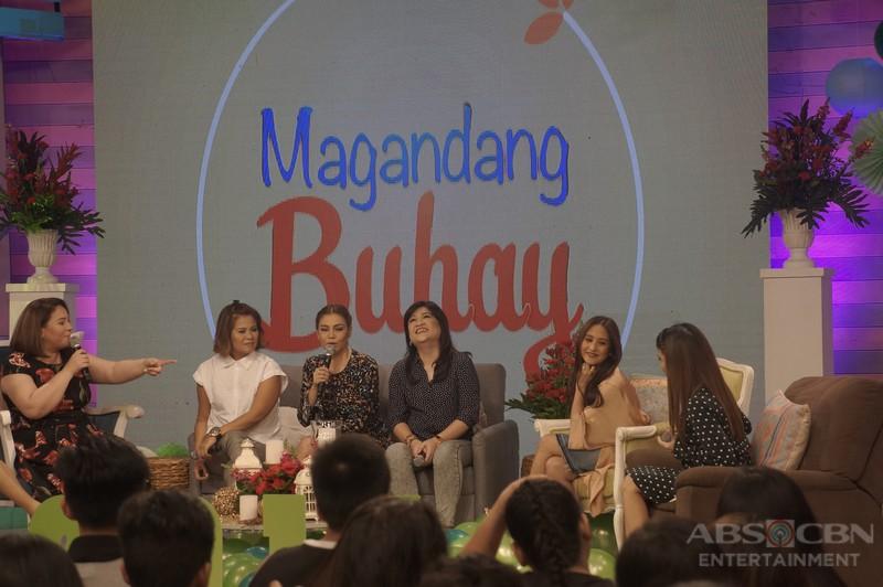 PHOTOS: Magandang Buhay with K Brosas, Winnie Cordero and Candy Pangilinan