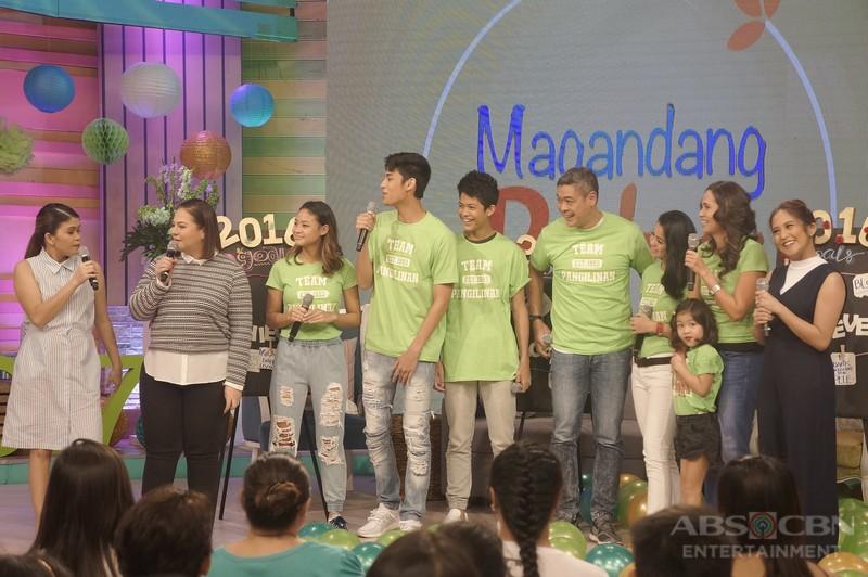 PHOTOS: Magandang Buhay with the Pangilinans
