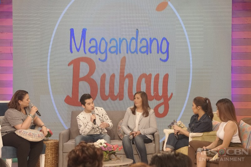 PHOTOS: Magandang Buhay with Christian Bables and Enzo Pineda