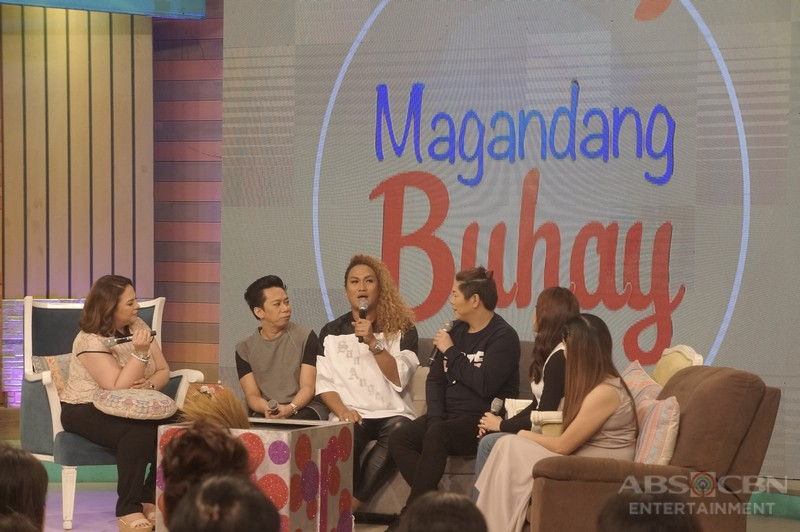 PHOTOS: Magandang Buhay with Chokoleit and Negi