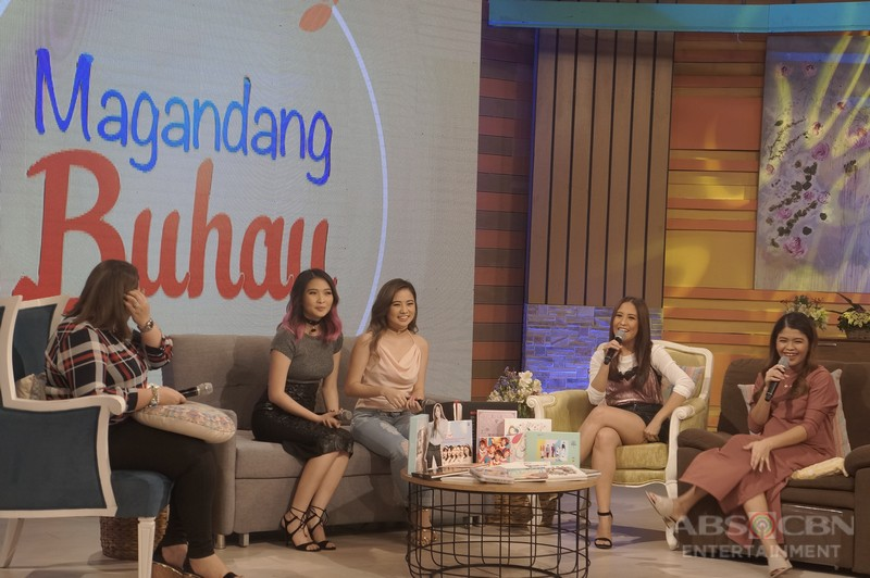 PHOTOS: Magandang Buhay with Patrick & Chesca Garcia and Ella Cruz