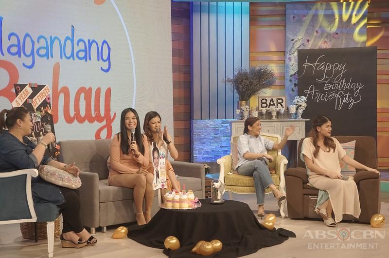 PHOTOS: Magandang Buhay with Ritz Azul and Arci Muñoz