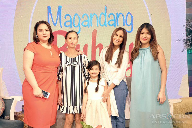 PHOTOS: Magandang Buhay with Xia Vigor, Mirian Quiambao and MJ Lastimosa