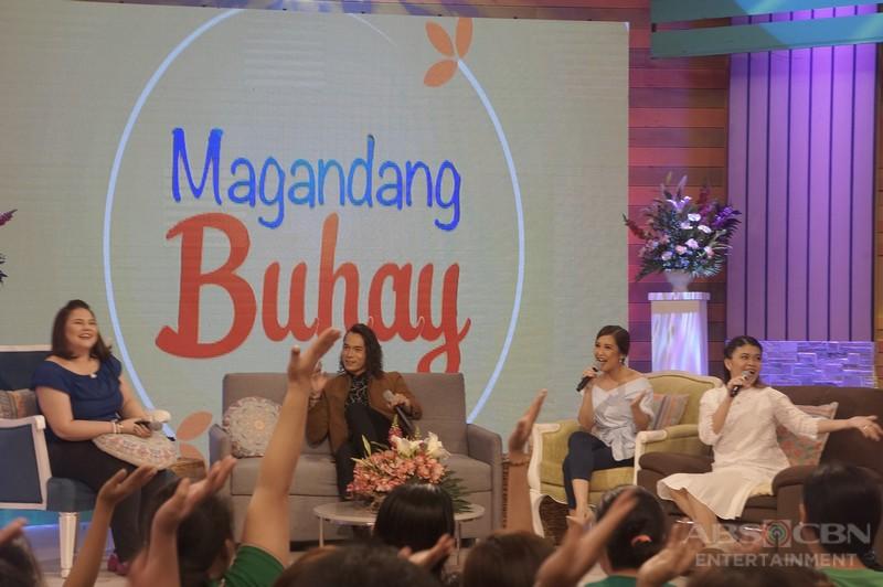 PHOTOS: Magandang Buhay with Jake Cuenca and Marvin Agustin