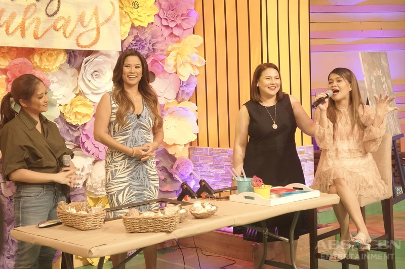 PHOTOS: Magandang Buhay with Andrea Del Rosario and Amanda Page