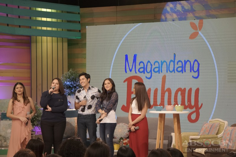 PHOTOS: Magandang Buhay with Paulo Avelino and Maja Salvador