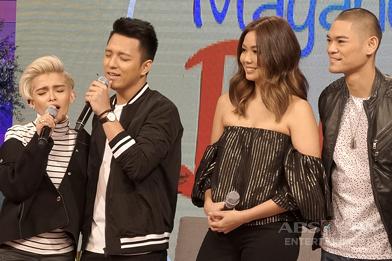 PHOTOS: Magandang Buhay with KZ & TJ and Jay R & Mica