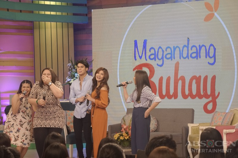 PHOTOS: Magandang Buhay with Mark Oblea and Loisa Andalio