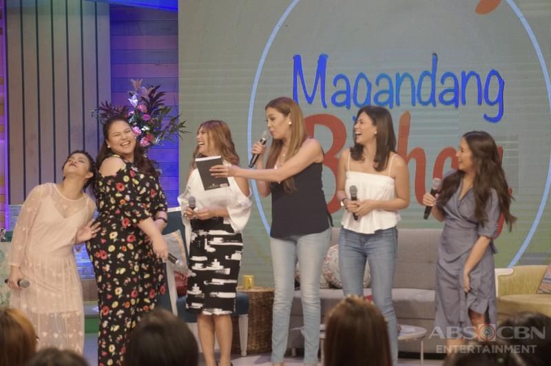 PHOTOS: Magandang Buhay with K, Vina and Precious