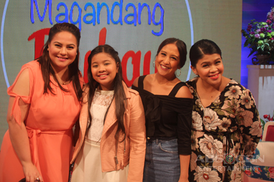 PHOTOS: Magandang Buhay with the Elha Nympha