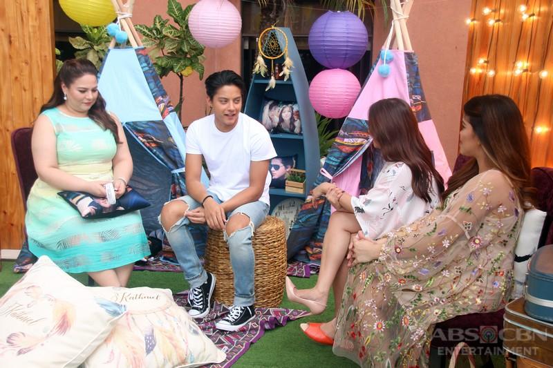 PHOTOS: Magandang Buhay with KathNiel