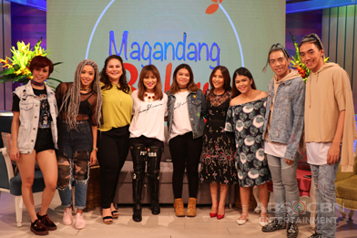 PHOTOS: Magandang Buhay with Teacher Georcelle and Michelle Van Eimeren