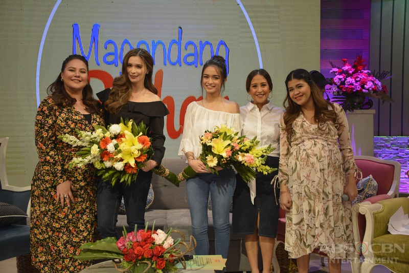 PHOTOS: Magandang Buhay with Iza, Angelina and Sunshine