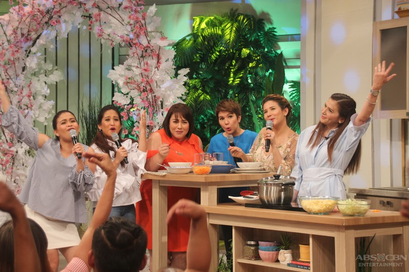 PHOTOS: Magandang Buhay with Zsa Zsa Padilla