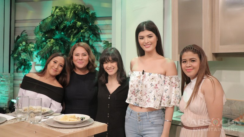 PHOTOS: Magandang Buhay with Claudia Barretto and Mariel de Leon