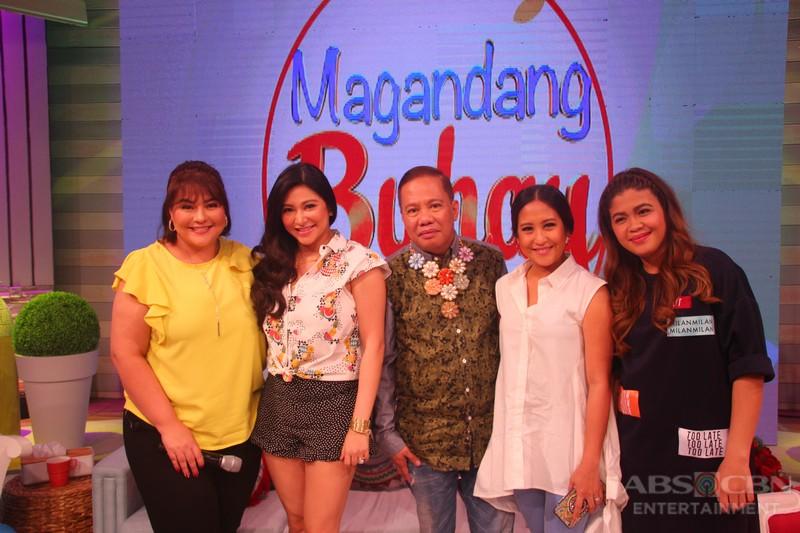 PHOTOS: Magandang Buhay with Alessandra, Empoy, Shalala and Rufa Mae