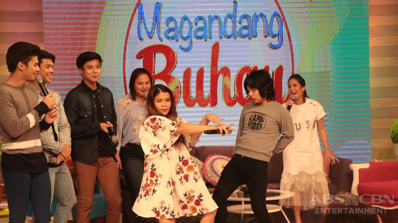 PHOTOS: Magandang Buhay with Elmo, Diego, Yves, Ronnie and Empoy