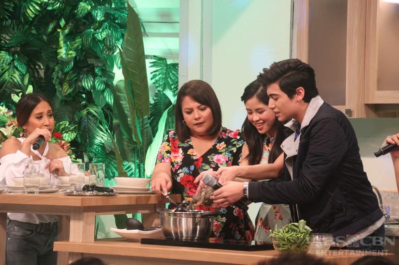 PHOTOS: Magandang Buhay with Kisses and Marco