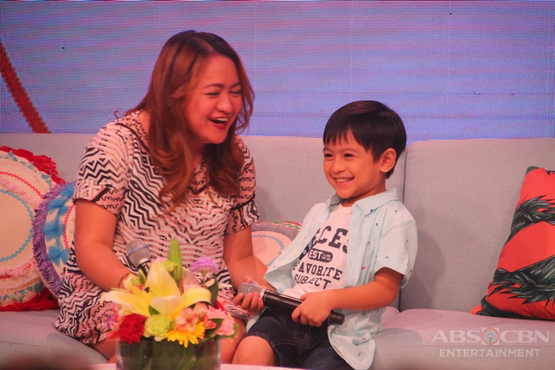 PHOTOS: Magandang Buhay with La Luna Sangre's Little Tristan and Little Malia