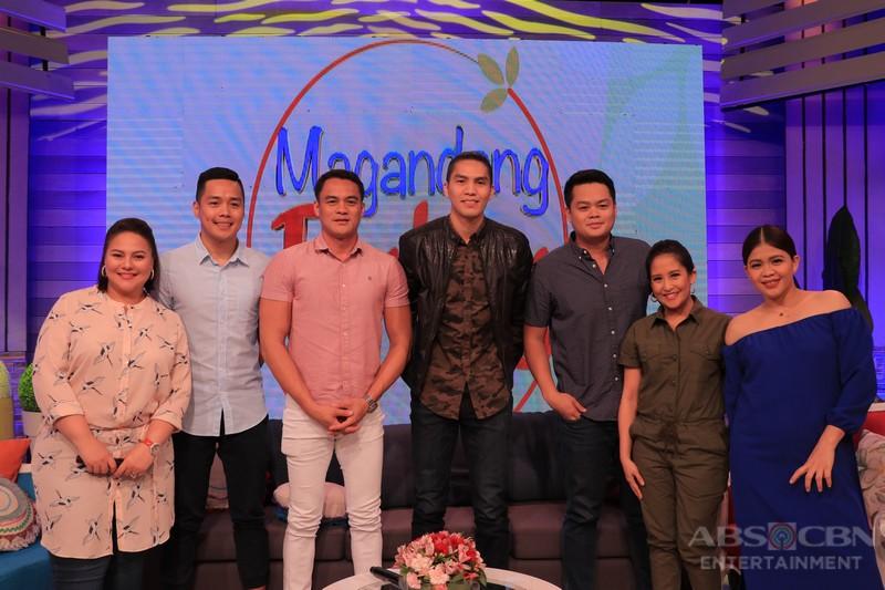 PHOTOS: Magandang Buhay with Edward Barber and JC Intal