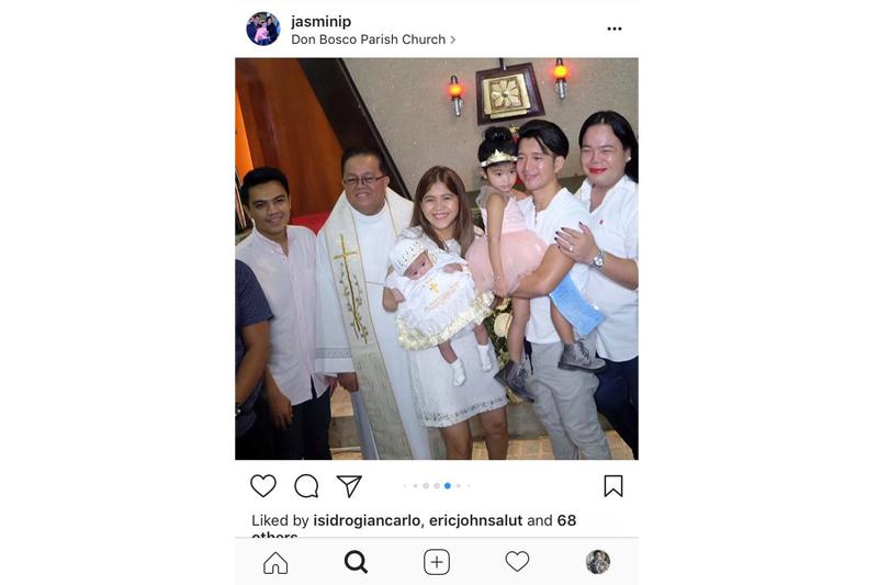 LOOK: Baby Stella's Christening