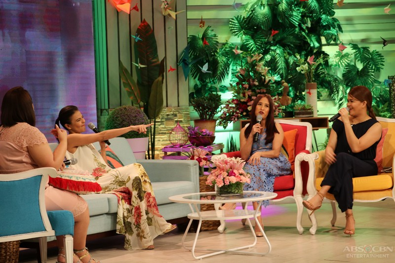 PHOTOS: Magandang Buhay with Empoy Marquez and Alessandra de Rossi