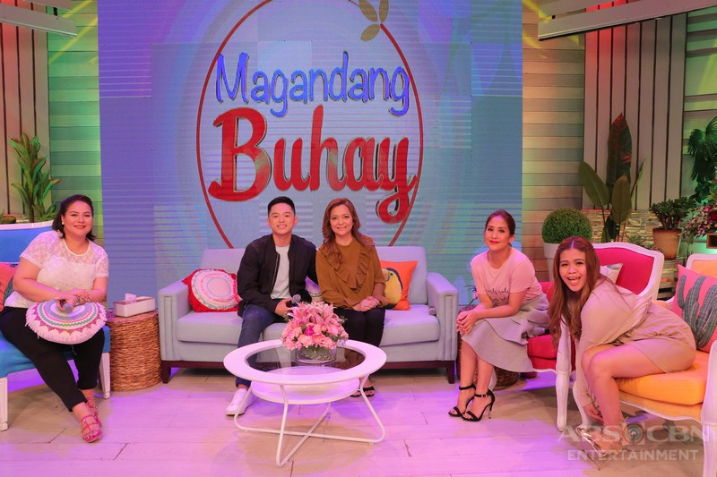 PHOTOS: Magandang Buhay with The Voice Teen Artists Isabela and Jeremy
