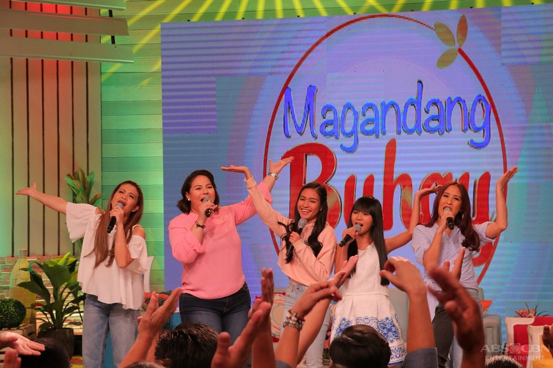 PHOTOS: Magandang Buhay with The Voice Teen's Jona and Mica