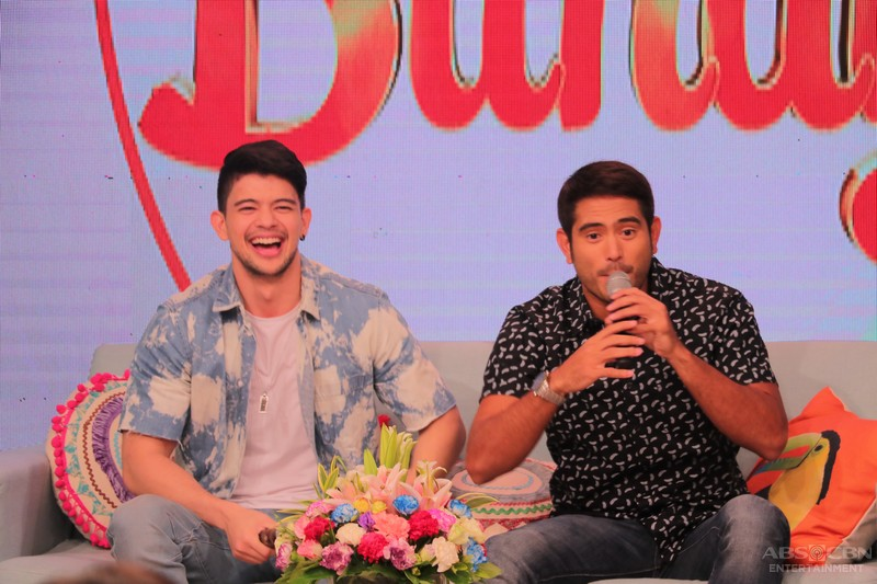 PHOTOS: Magandang Buhay with Gerald Anderson and Jessy Mendiola