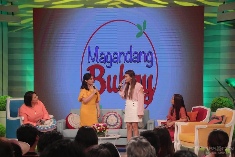 PHOTOS: Magandang Buhay with Gladys Reyes and Niña Corpuz