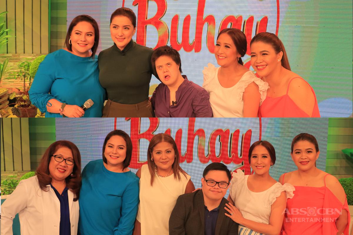 PHOTOS: Magandang Buhay with Ara Mina and Candy Pangilinan