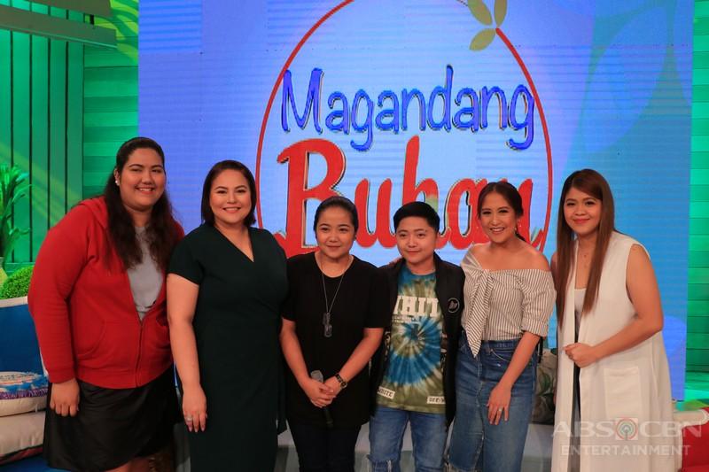 PHOTOS: Magandang Buhay with Jake Zyrus and Leila Alcasid