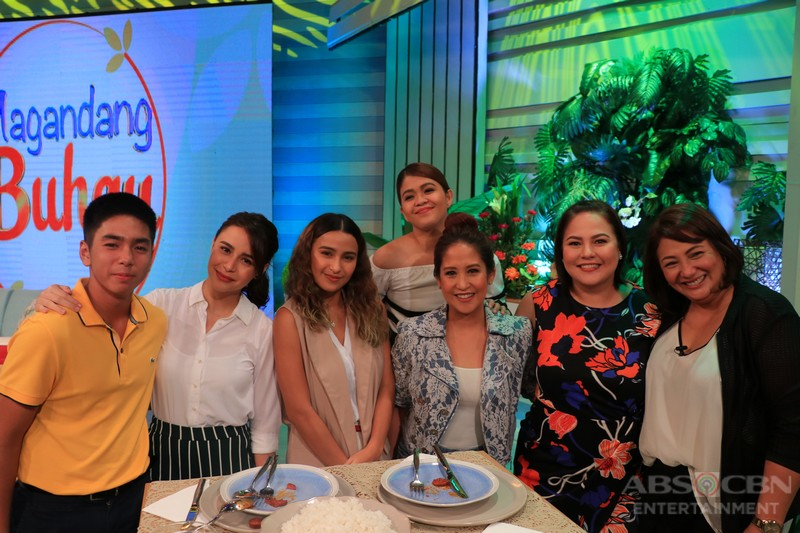 PHOTOS: Magandang Buhay with Cherry Pie Picache and Pressman Sisters