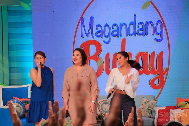 PHOTOS: Magandang Buhay with John Arcilla and Noven Belleza