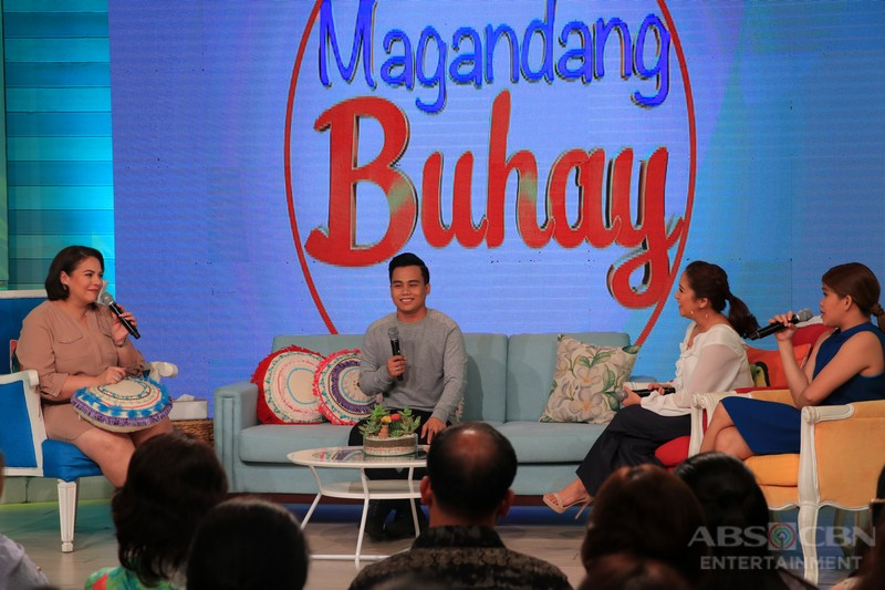 PHOTOS: Magandang Buhay with John Arcilla and Noven Belleza