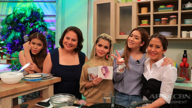 PHOTOS: Magandang Buhay with Miles & Sue and KZ & Angeline
