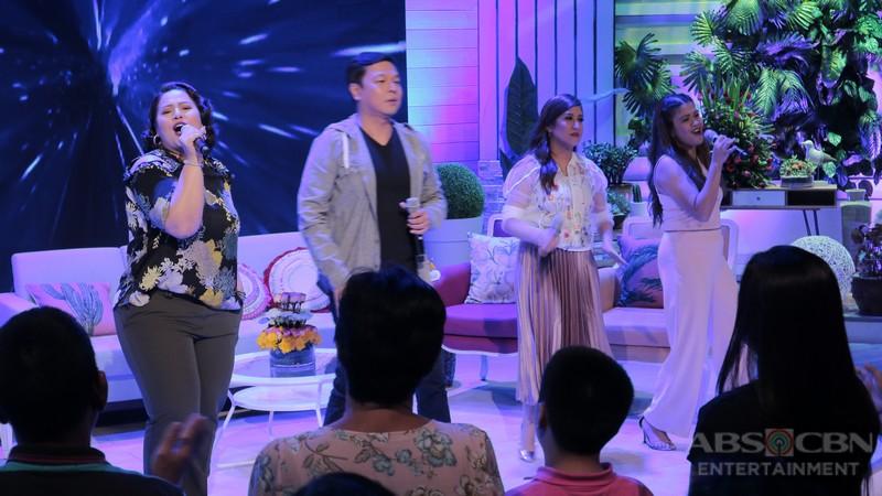 PHOTOS: Magandang Buhay with Morisette Amon, Marlo Mortel, Jett Pangan and Dessa