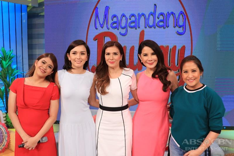 PHOTOS: Magandang Buhay with ZsaZsa Padilla and Carmi Martin
