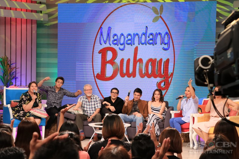PHOTOS: Magandang Buhay with the cast of Seven Sundays
