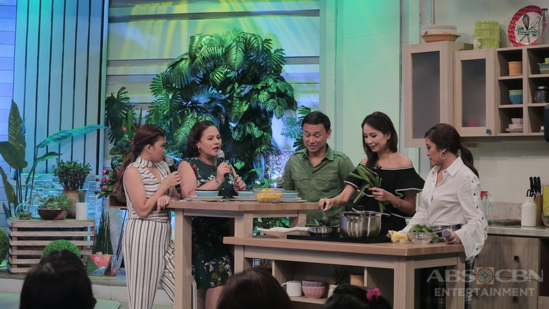 PHOTOS: Magandang Buhay with Gladys & Christopher and Sonny & Tootsy
