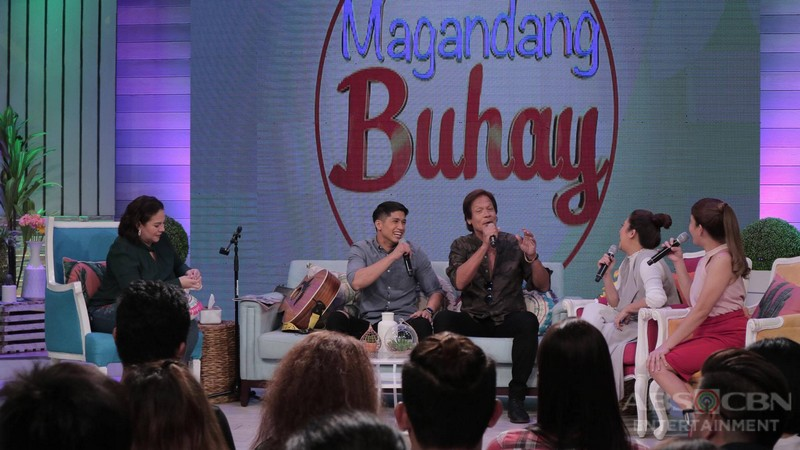 PHOTOS: Magandang Buhay with Aljur and Cristine