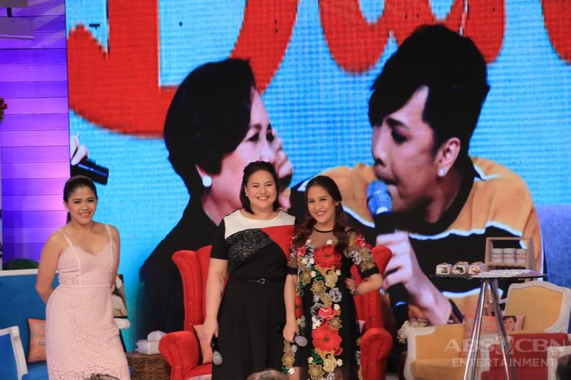 PHOTOS: Magandang Buhay with The Star For All Seasons Vilma Santos