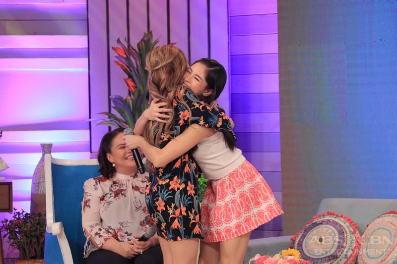 PHOTOS: Magandang Buhay with Kisses and Ysabel