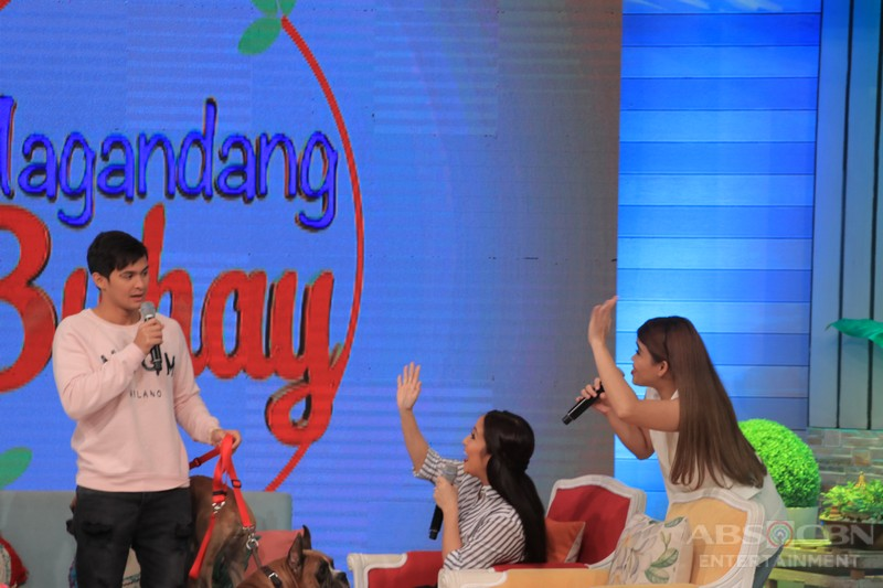 PHOTOS: Magandang Buhay with Kim & Matteo