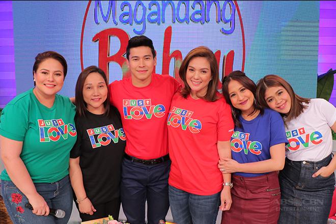 PHOTOS: Magandang Buhay with Sylvia Sanchez and Enchong Dee
