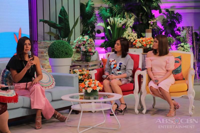 PHOTOS: Magandang Buhay with Alice Dixson and Pilita Corrales