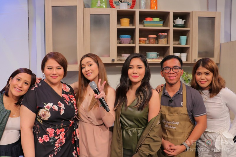PHOTOS: Magandang Buhay with Angeline and Yeng