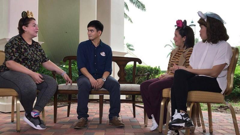 PHOTOS: Momshie Karla, Jolina and Melai enjoying Hong Kong Disneyland