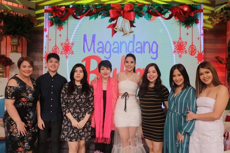 PHOTOS: Magandang Buhay with Maxene Magalona